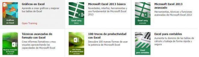 Los mejores cursos de Excel