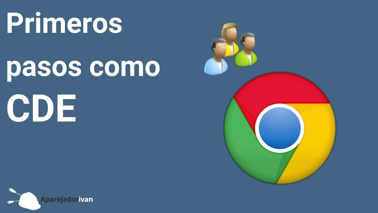 gestión de usuarios en google chrome