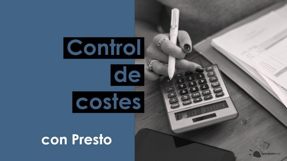 Control de costes con Presto
