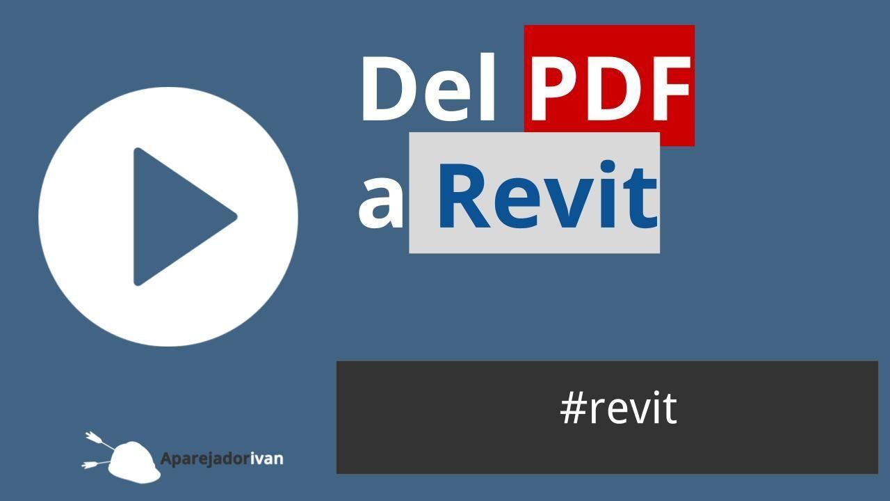 Del PDF a REVIT