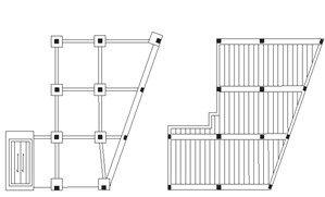 Cómo medir viguetas prefabricadas y crear cuadros de pilares a toda mecha
