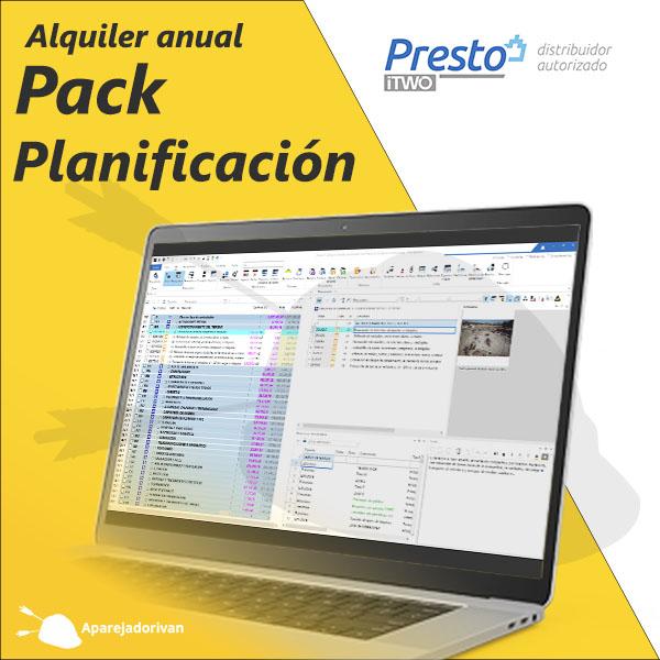 Pack Planificación Alquiler anual Presto