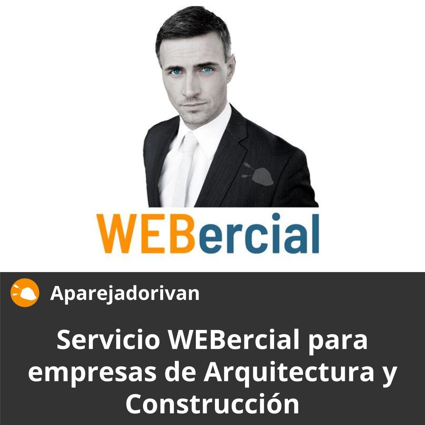 Servicio WEBercial para empresas de Arquitectura y Construccion