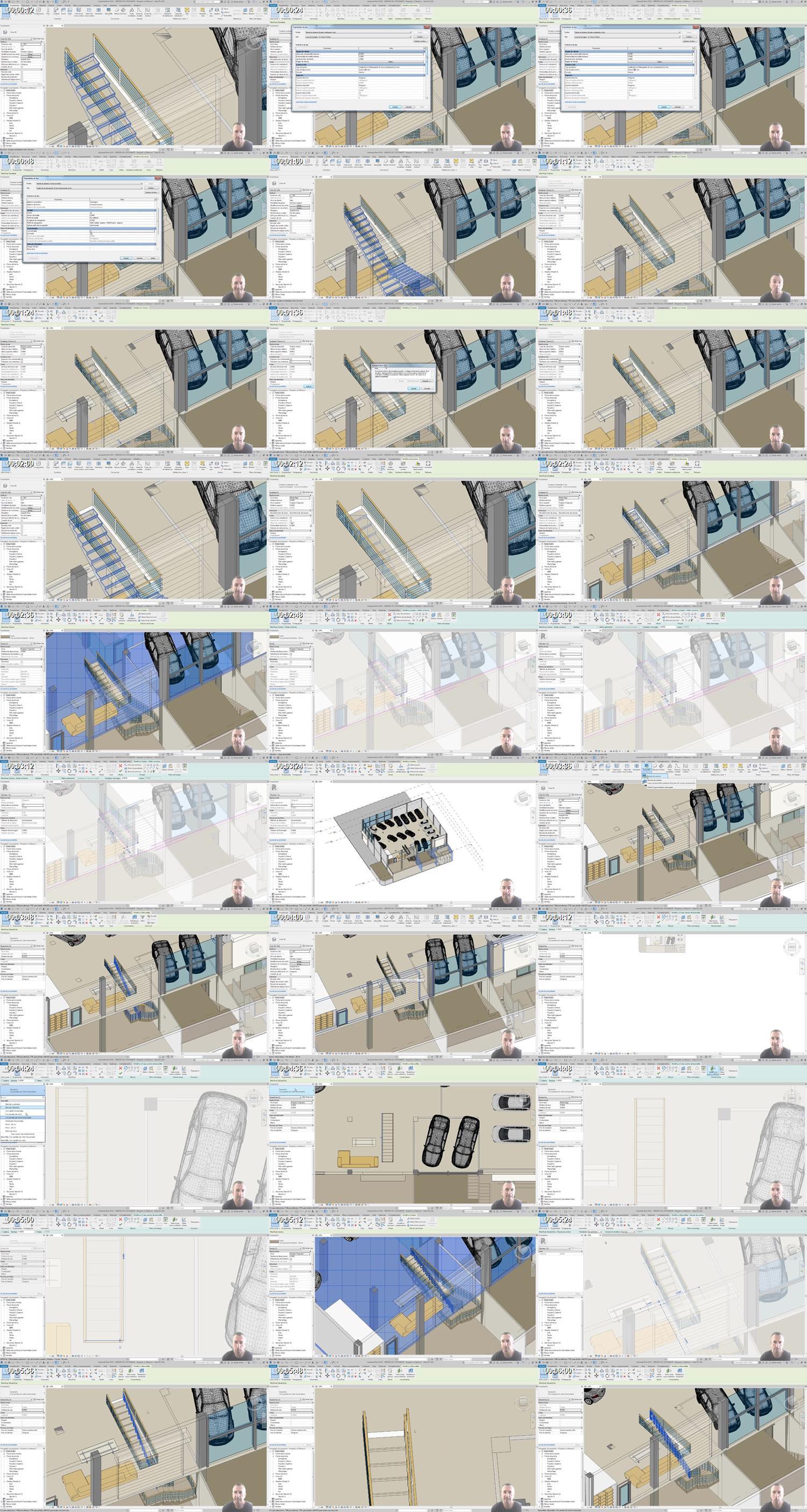 añadir barandilla y eliminar tabica en escalera_Thumbnail