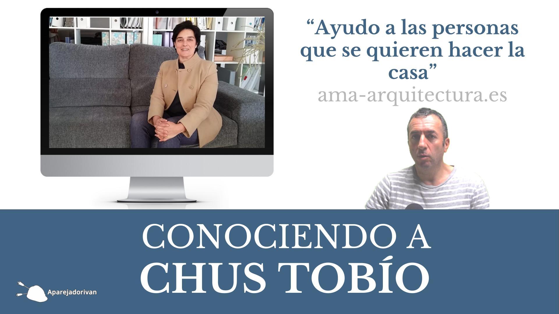 conociendo a Chus Tobío Ama-arquitectura