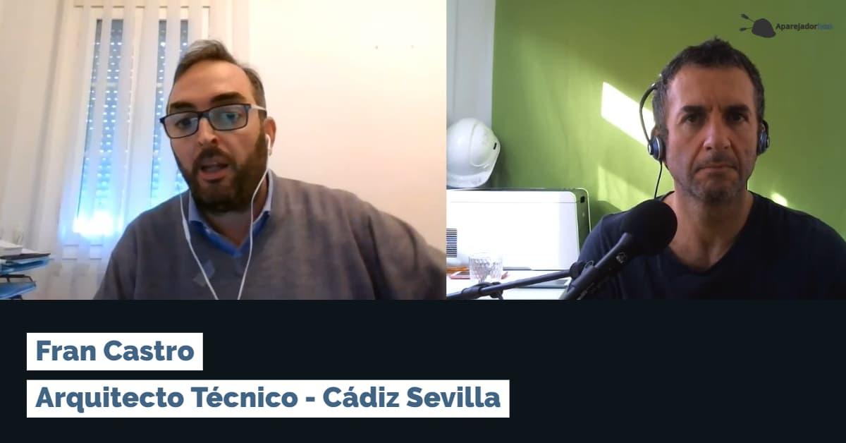 entrevista arquitecto tecnico francisco castro cadiz sevilla