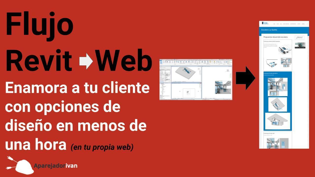 flujo revit web para mostrar opciones a tu cliente