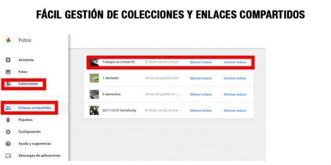 gestión-de-colecciones-google-photos