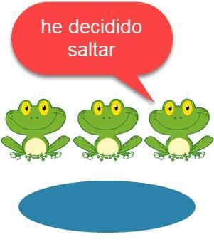 Las tres ranas