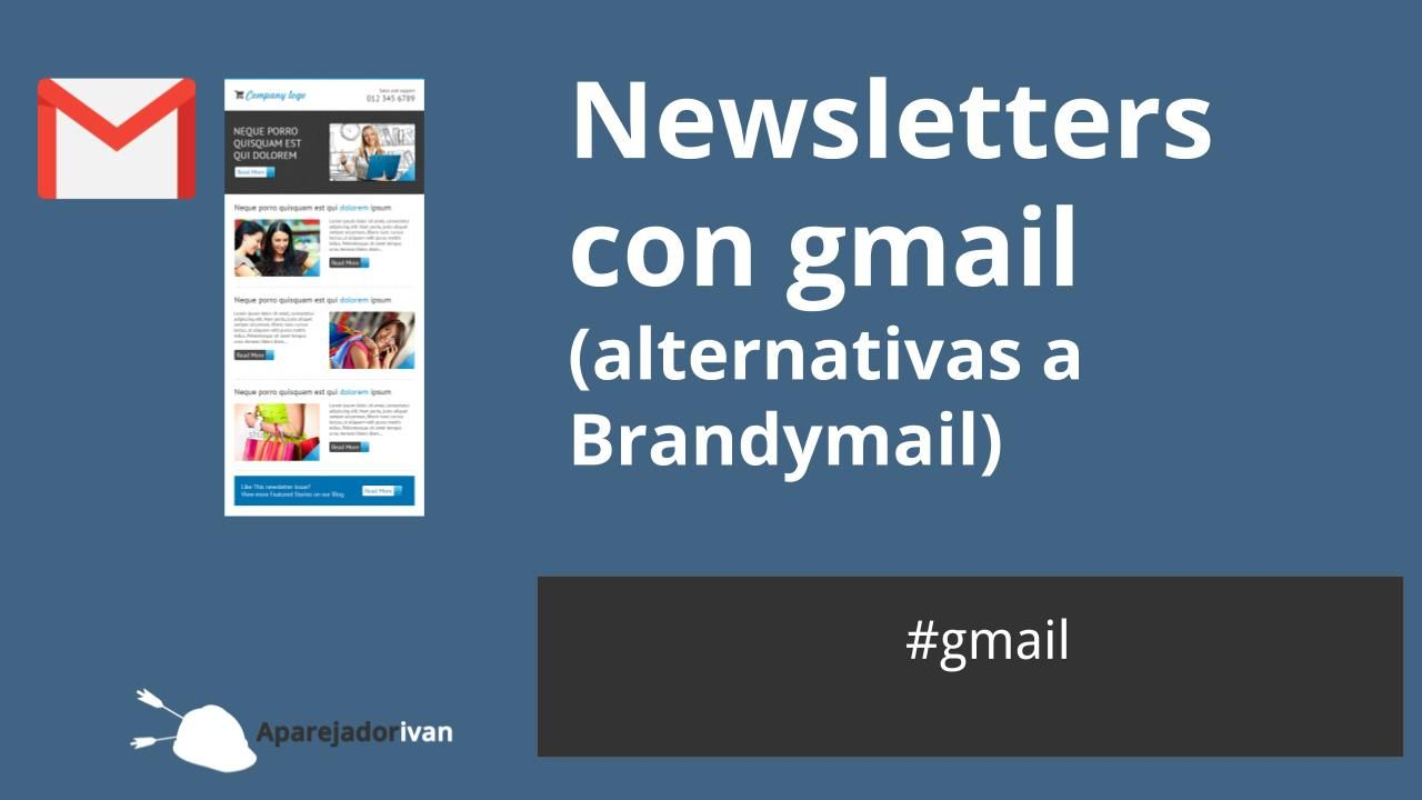 newsletters con gmail