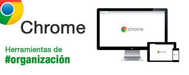 Herramientas de organización: Google Chrome