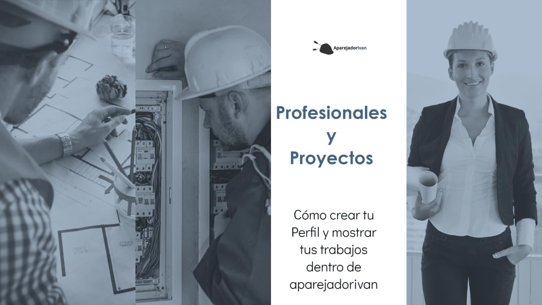 profesionales y proyectos en aparejadorivan