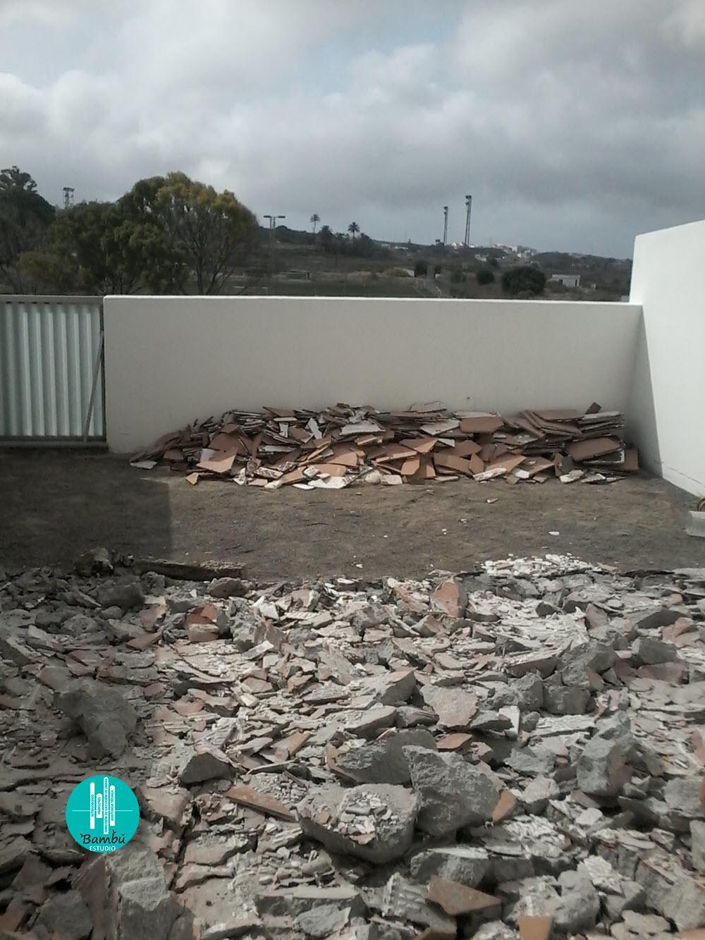 reforma terraza con humedades gran canaria 01