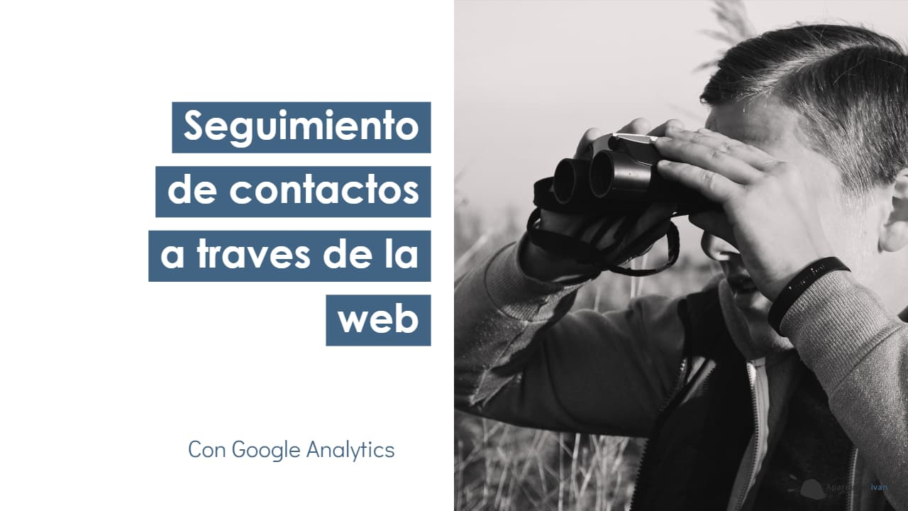 seguimiento de contactos a traves de la web