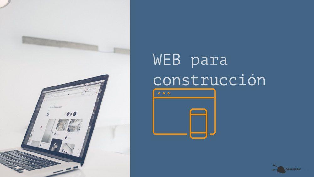 Web para construcción